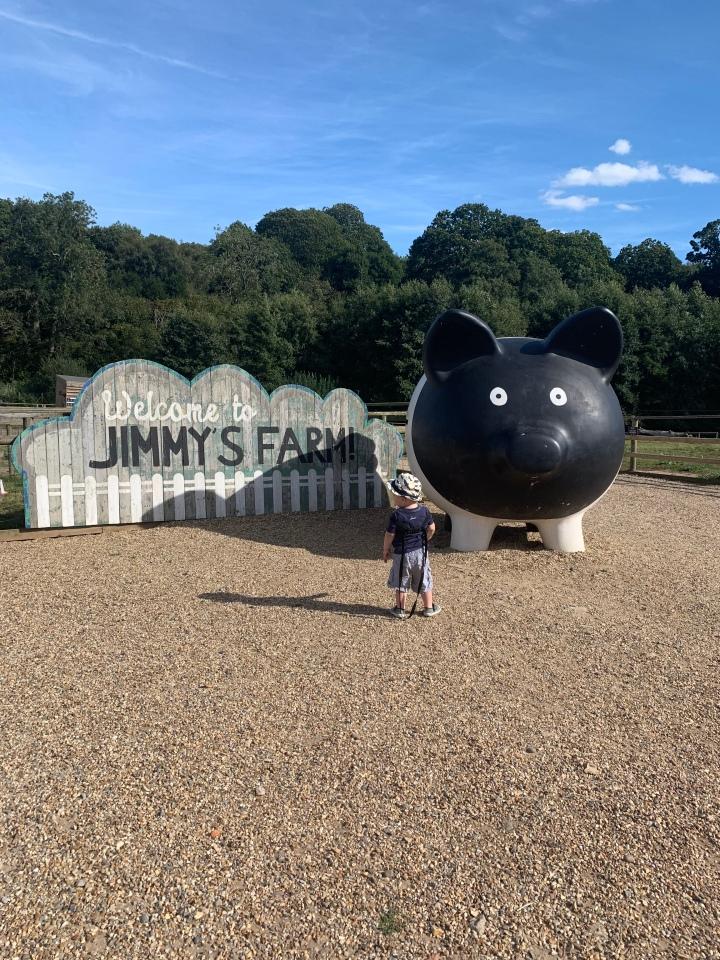 Trip to Jimmy'sfarm!