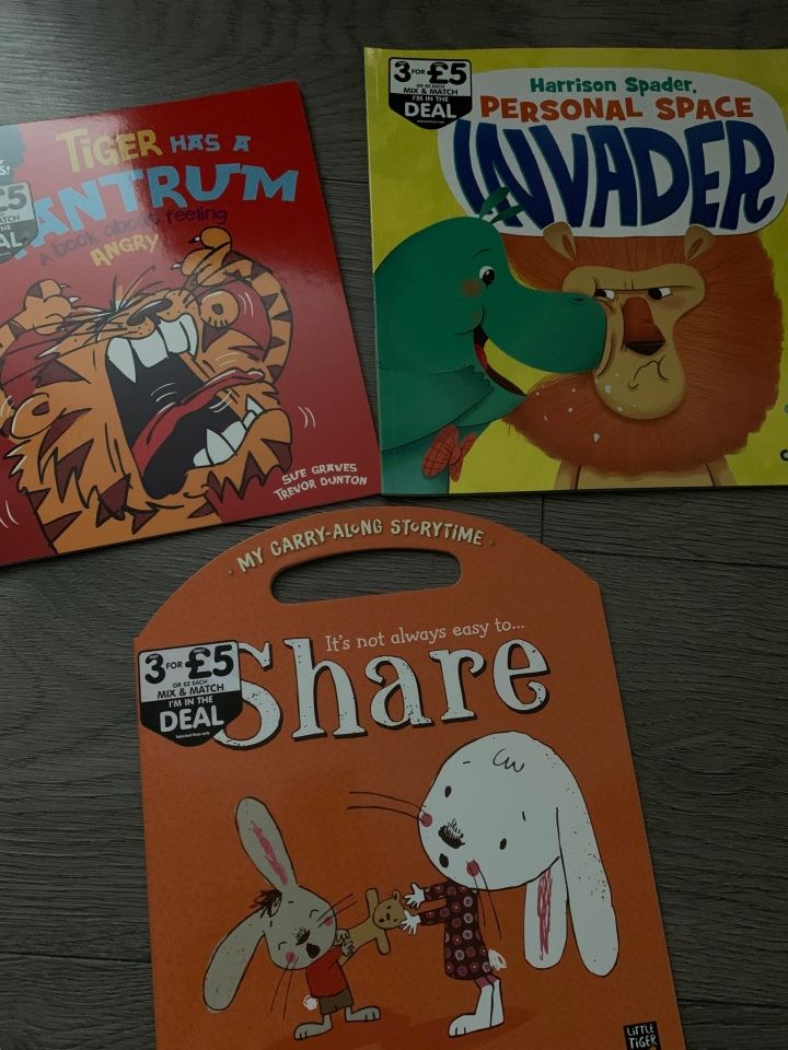 Books which teach little ones life lessons.