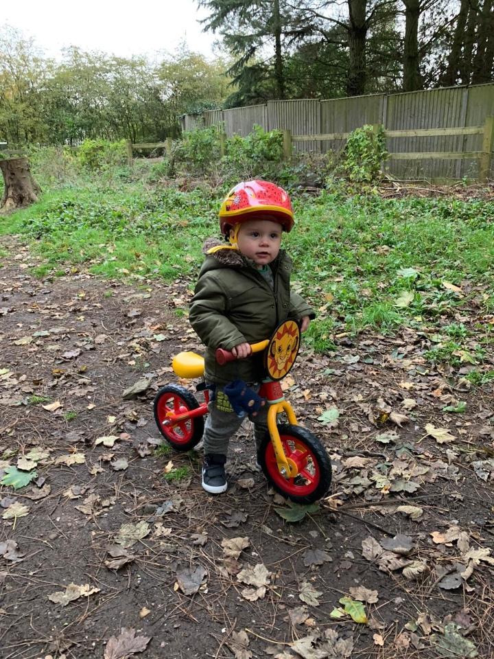 Balance bike fun!