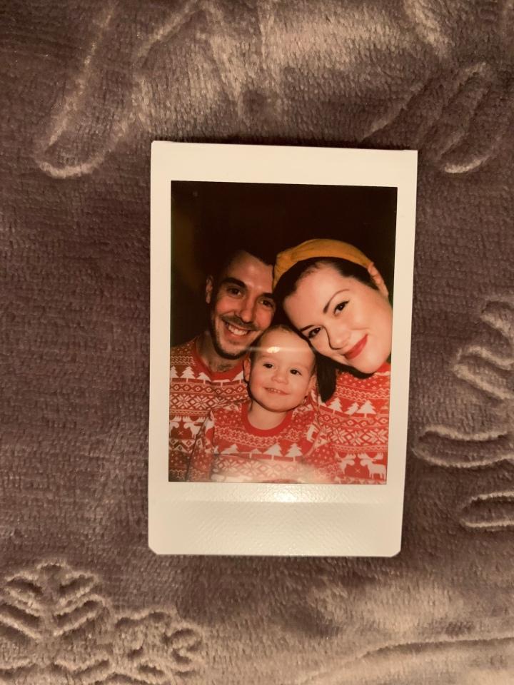 Using a Polaroidcamera