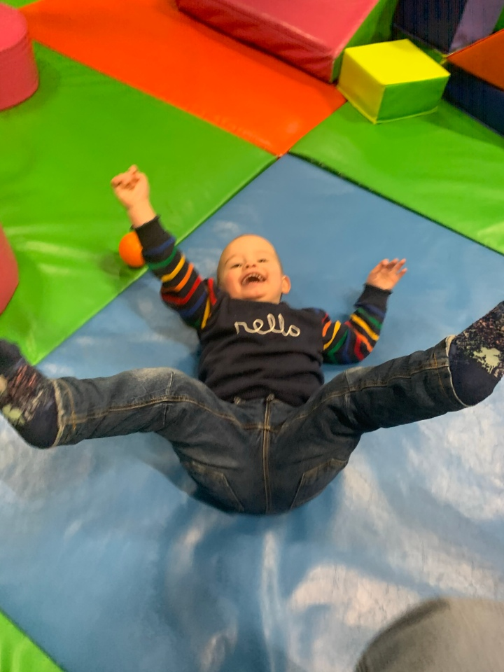 Why we love soft play