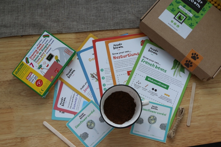 Mud&Bloom Box. The perfect monthly activity box for little greenfingers.
