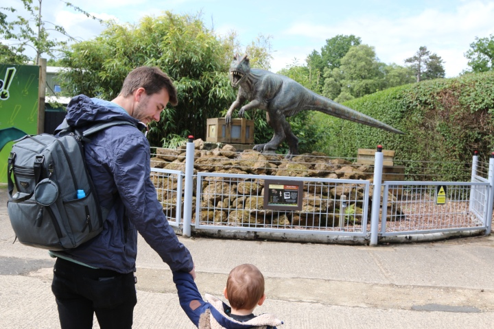 A day out at roarr! dinosaur adventures!