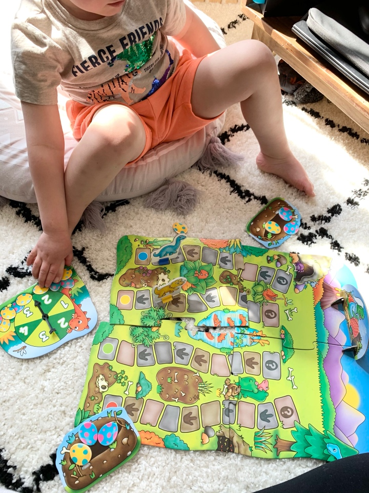Review of orchard toys games